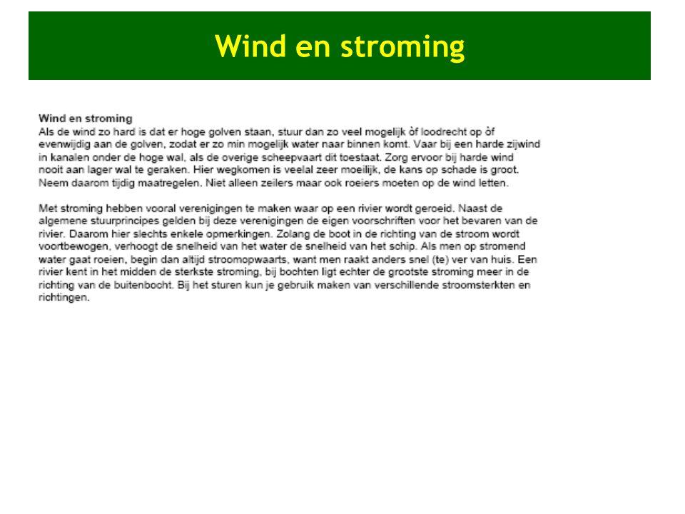 Wind en stroming