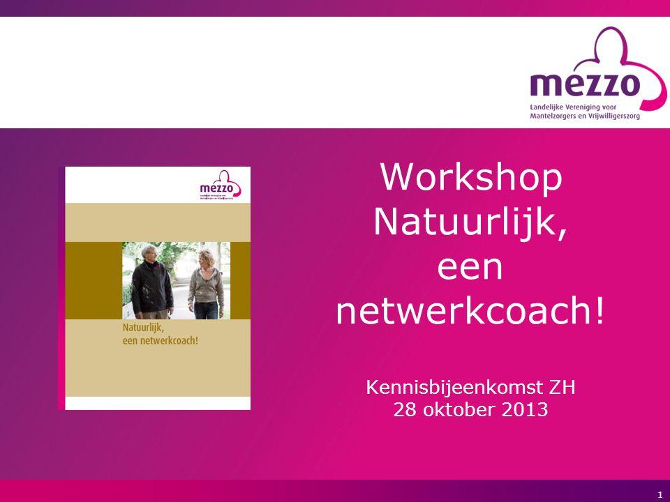Workshop Natuurlijk, een netwerkcoach