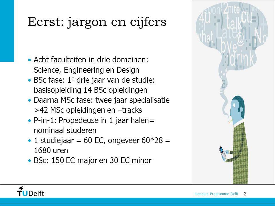 Eerst: jargon en cijfers