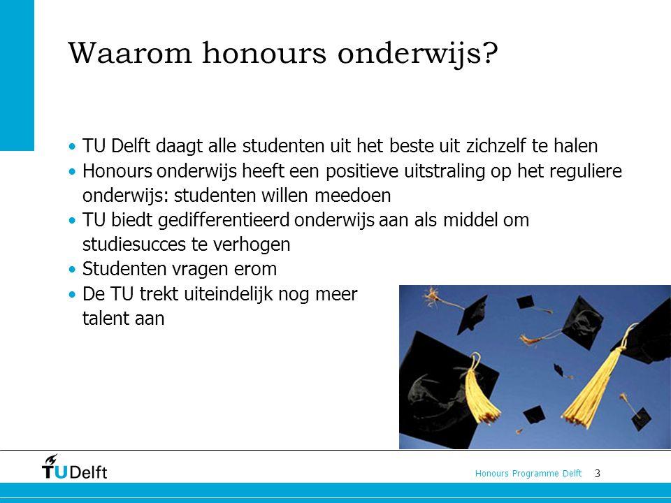 Waarom honours onderwijs