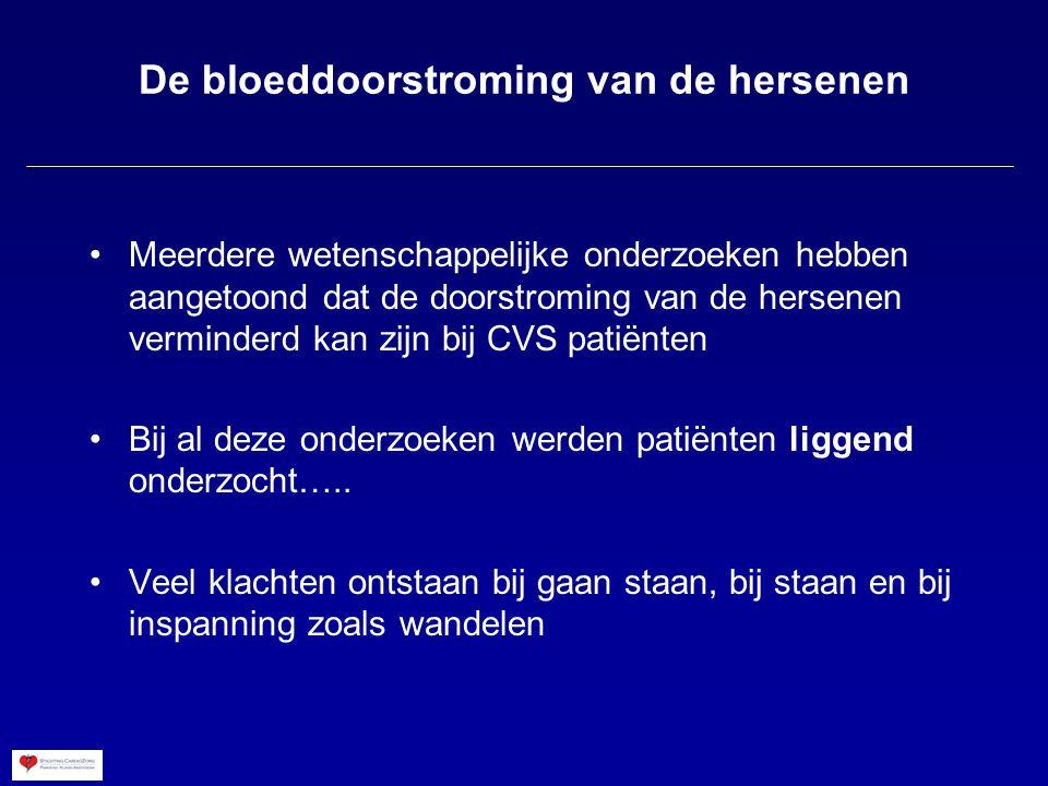 De bloeddoorstroming van de hersenen