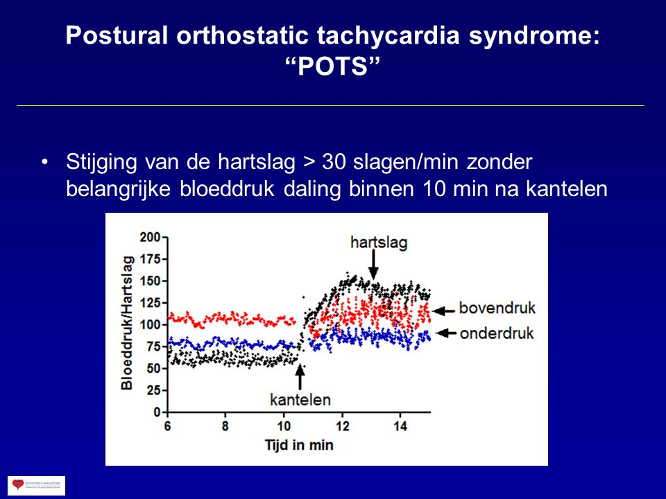 Postural orthostatic tachycardia syndrome: POTS