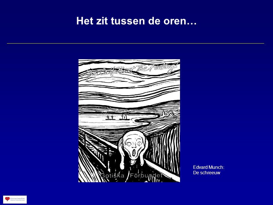 Het zit tussen de oren… Edvard Munch: De schreeuw