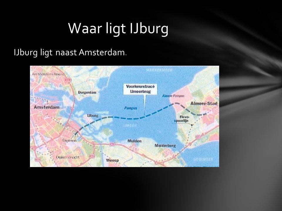 Waar ligt IJburg IJburg ligt naast Amsterdam.