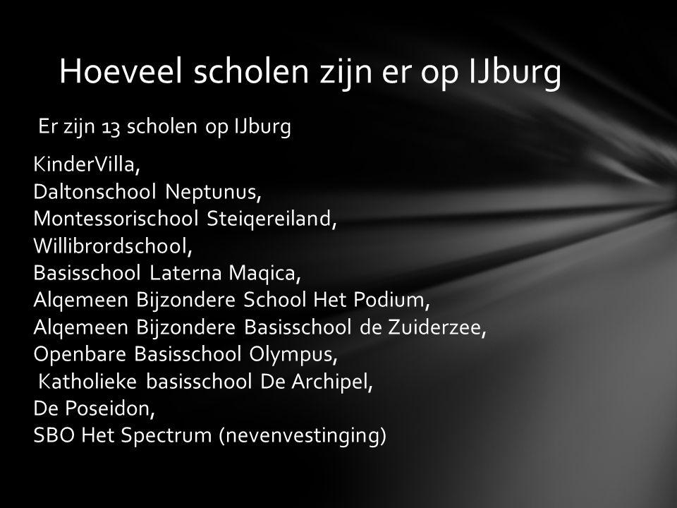 Hoeveel scholen zijn er op IJburg