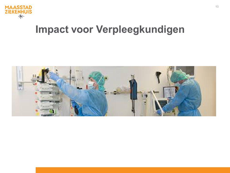 Impact voor Verpleegkundigen