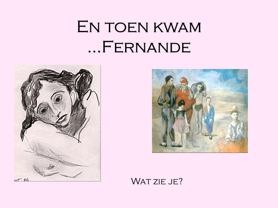 En toen kwam …Fernande Wat zie je