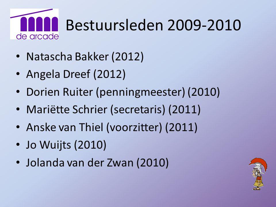 Bestuursleden 2009-2010 Natascha Bakker (2012) Angela Dreef (2012)