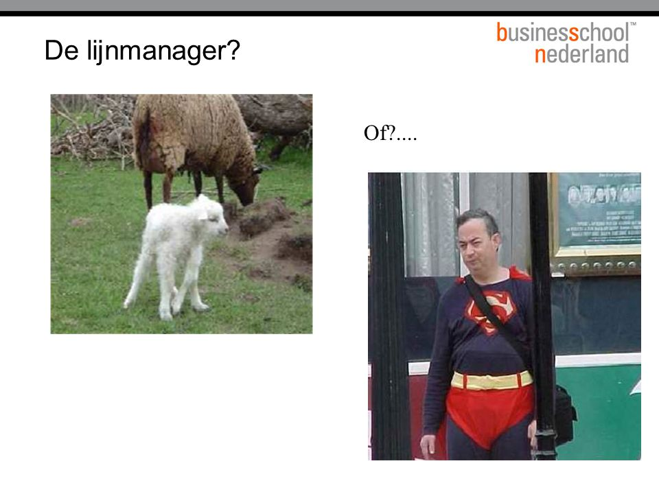 De lijnmanager Of .... 39