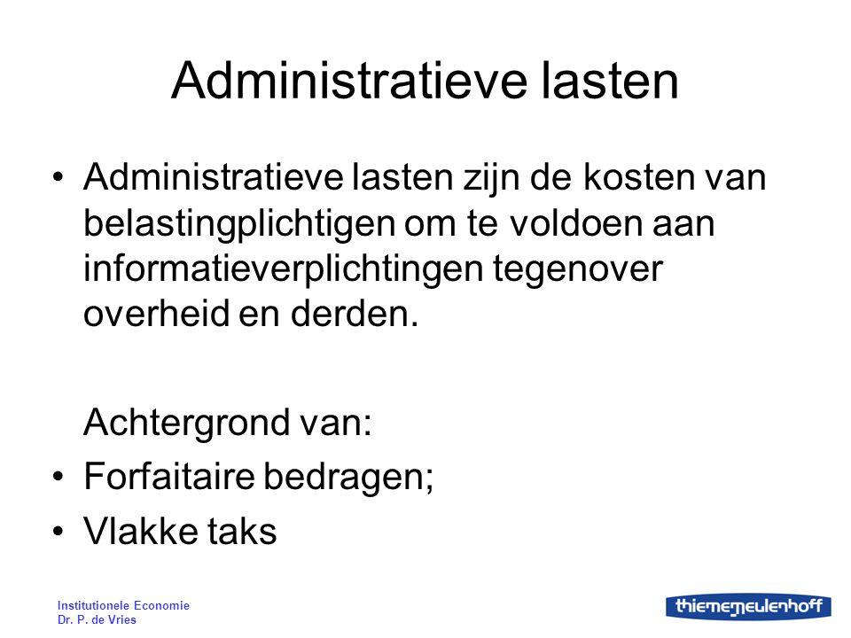 Administratieve lasten