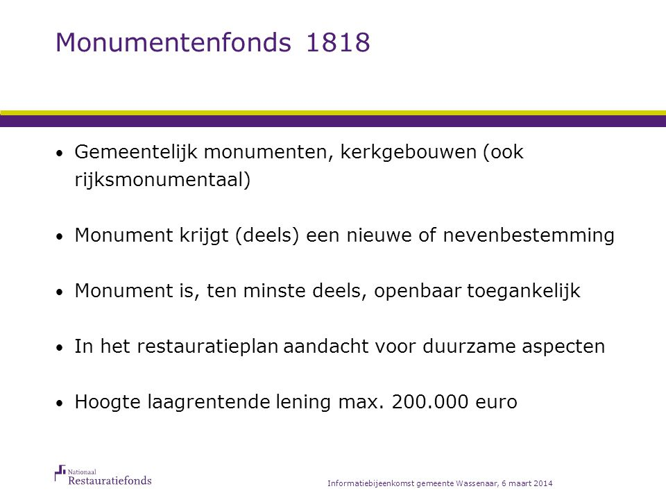 Aanvullend financieren: Totaal-financiering