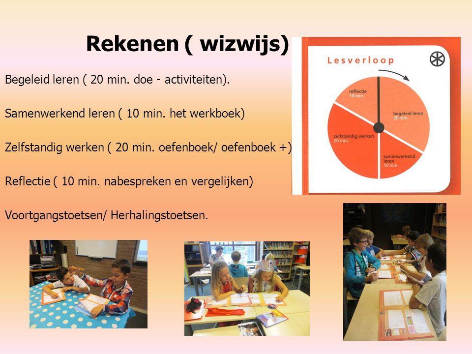 Rekenen ( wizwijs) Begeleid leren ( 20 min. doe - activiteiten).