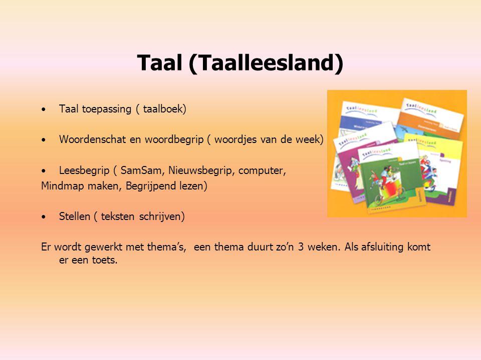 Taal (Taalleesland) Taal toepassing ( taalboek)