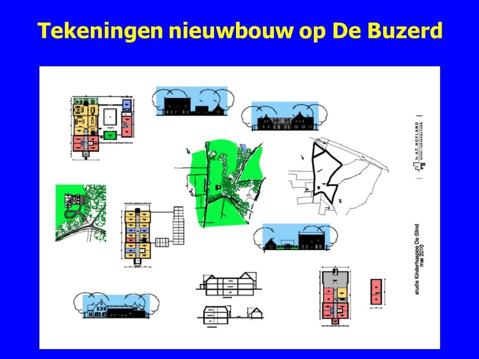 Tekeningen nieuwbouw op De Buzerd