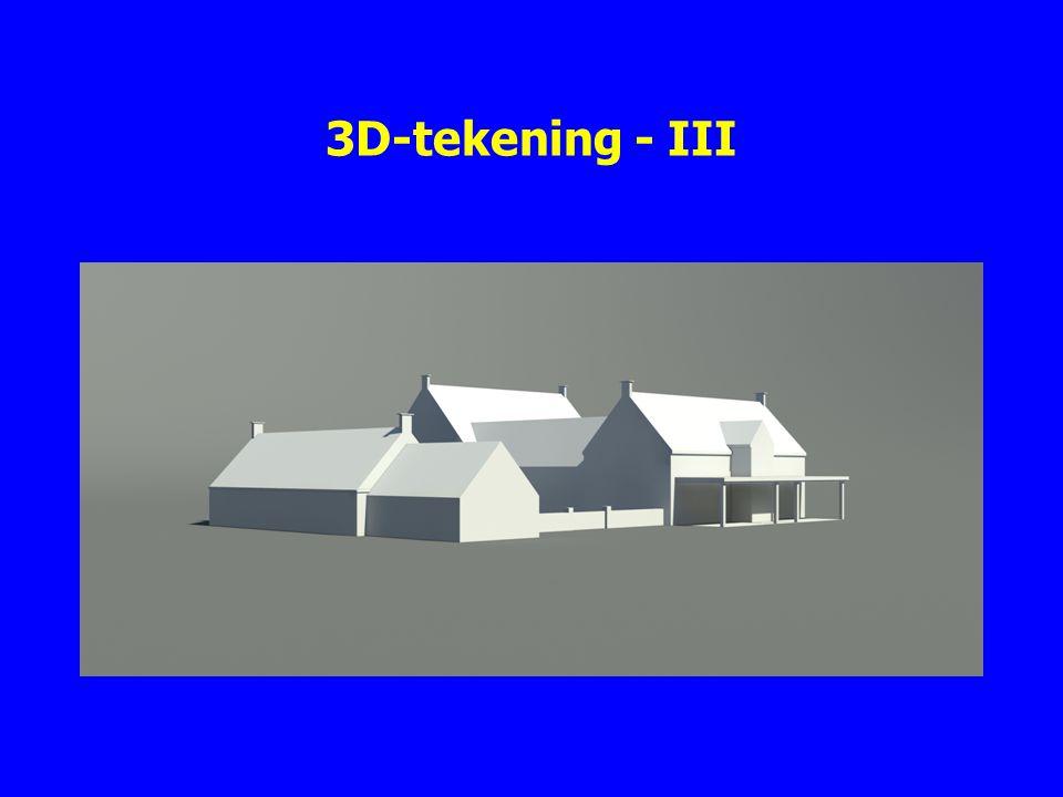3D-tekening - III