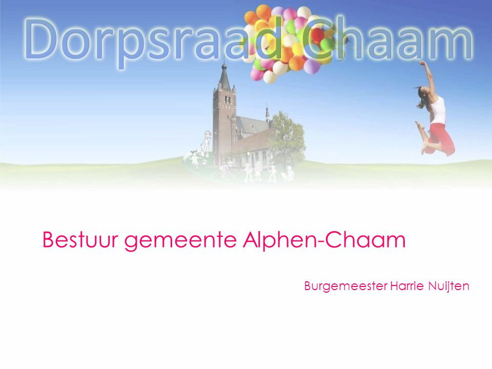 Bestuur gemeente Alphen-Chaam