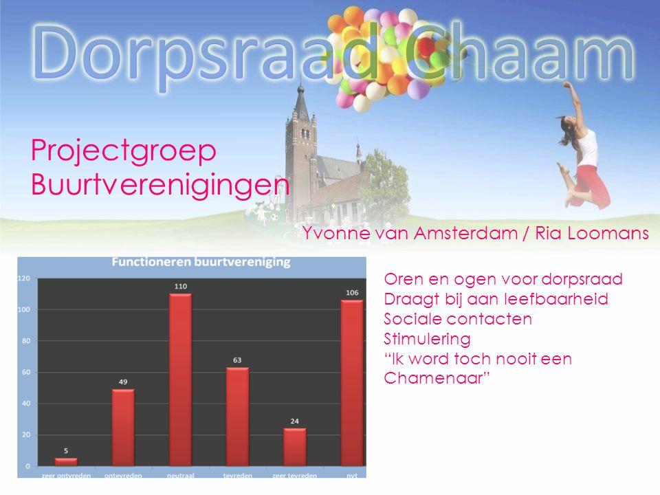Projectgroep Buurtverenigingen Yvonne van Amsterdam / Ria Loomans