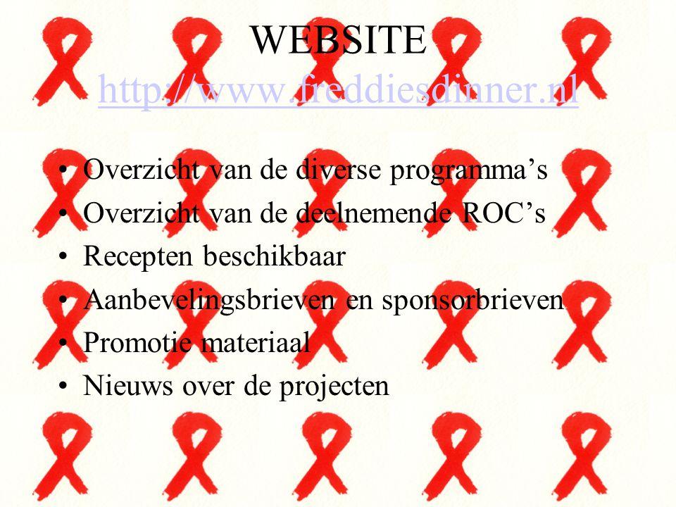 WEBSITE http://www.freddiesdinner.nl