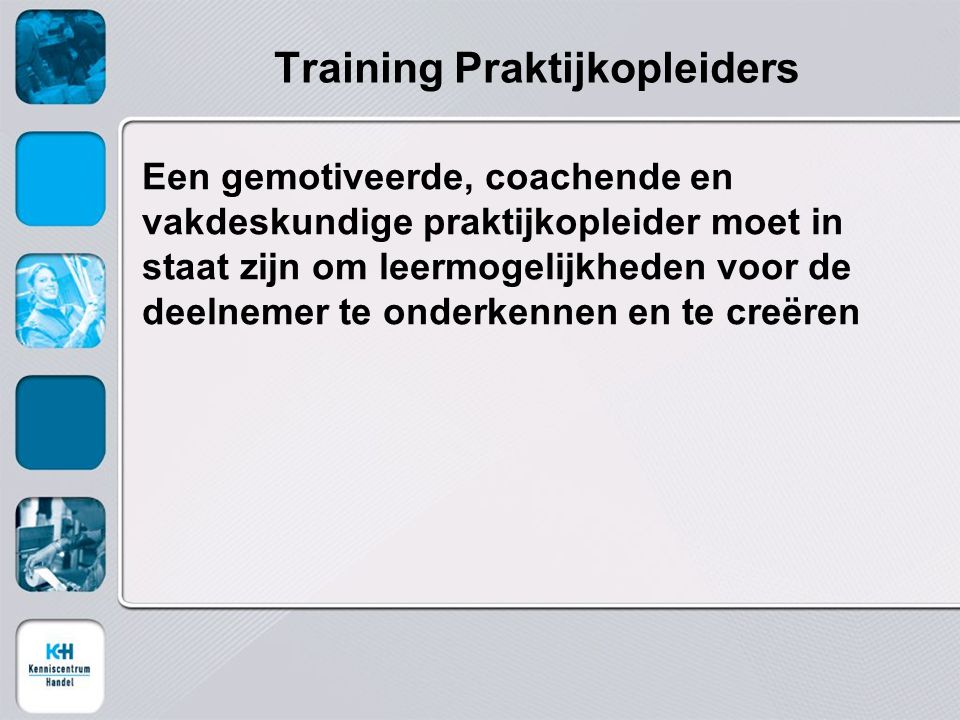 Training Praktijkopleiders