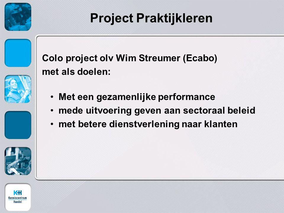 Project Praktijkleren