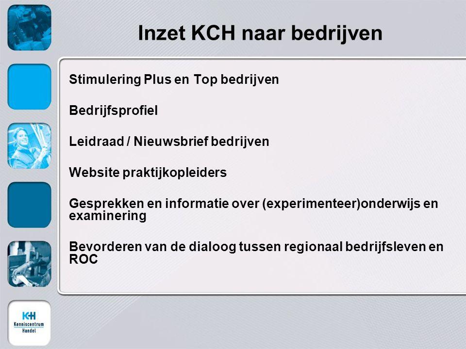 Inzet KCH naar bedrijven
