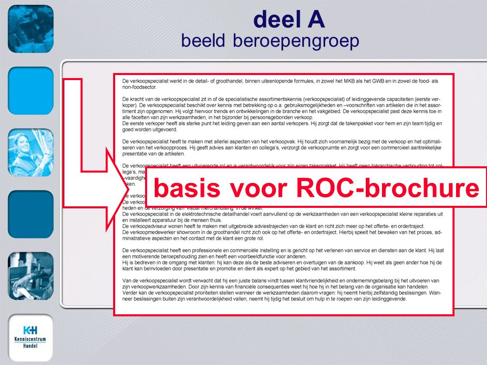 basis voor ROC-brochure