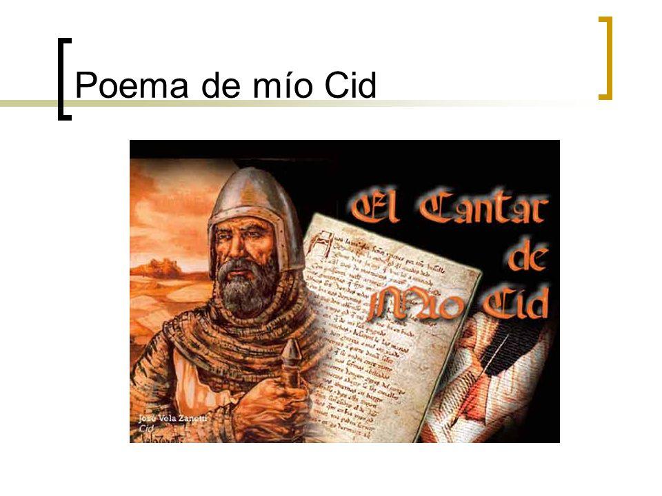 Poema de mío Cid