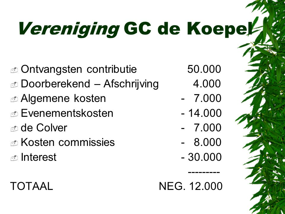 Vereniging GC de Koepel