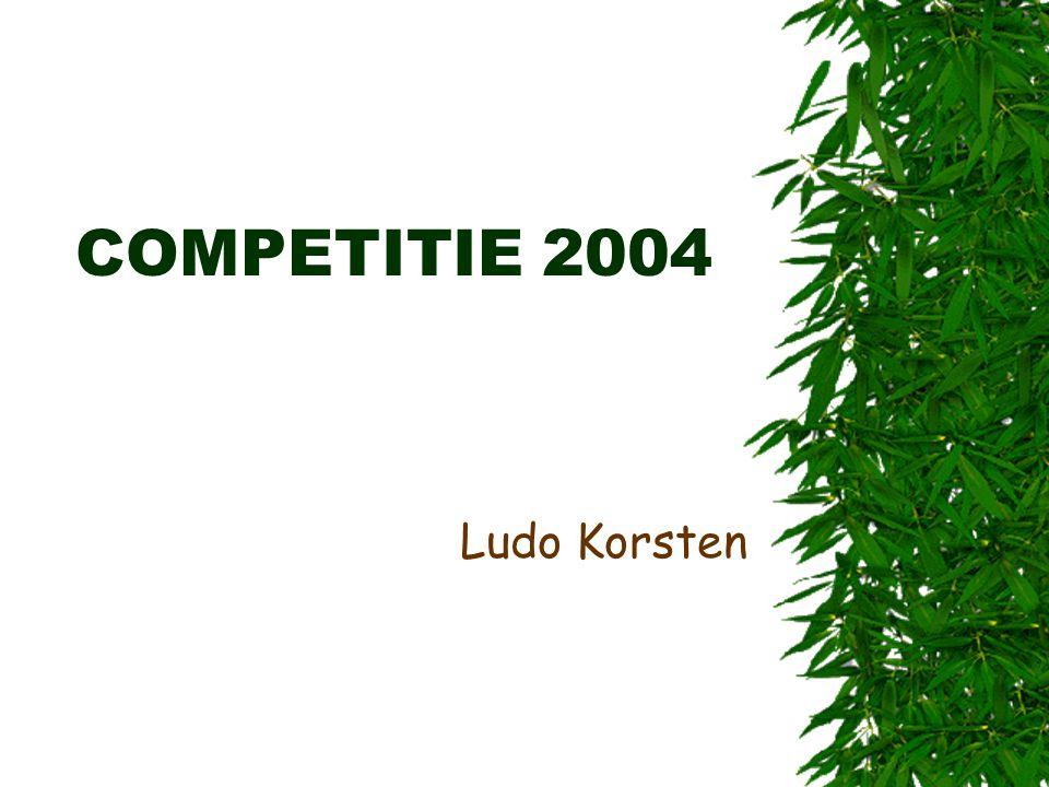 COMPETITIE 2004 Ludo Korsten