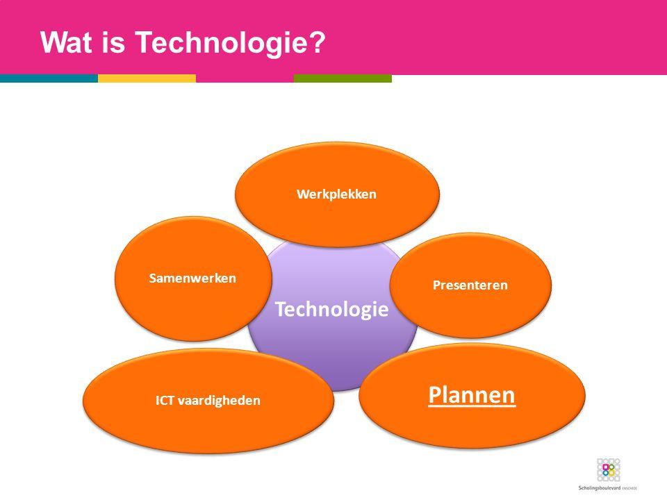 Wat is Technologie Plannen Werkplekken Presenteren ICT vaardigheden