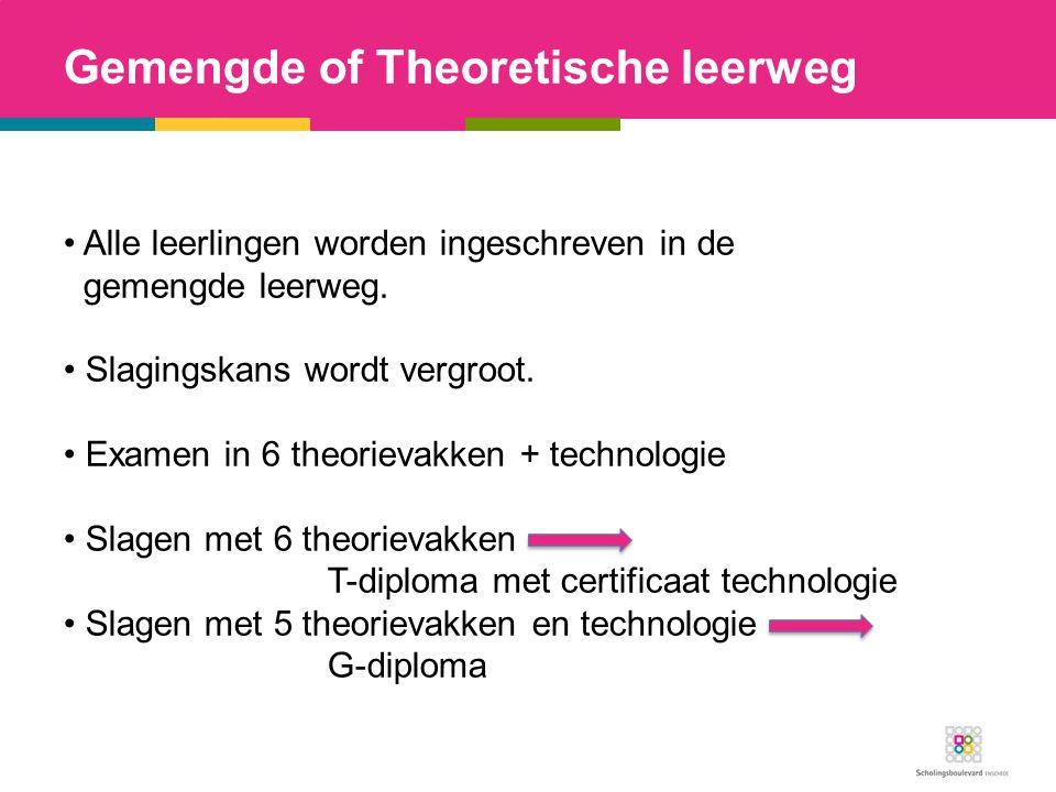 Gemengde of Theoretische leerweg