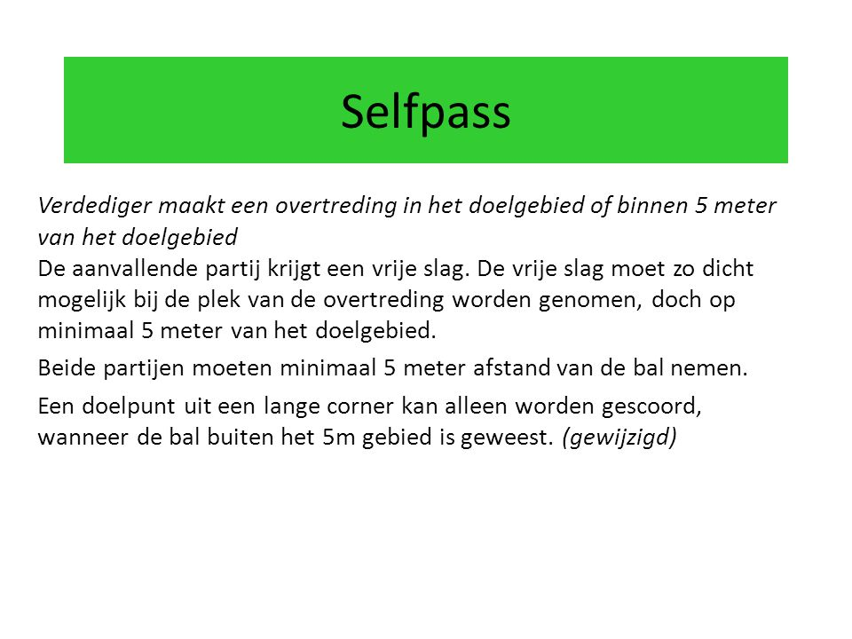 Selfpass