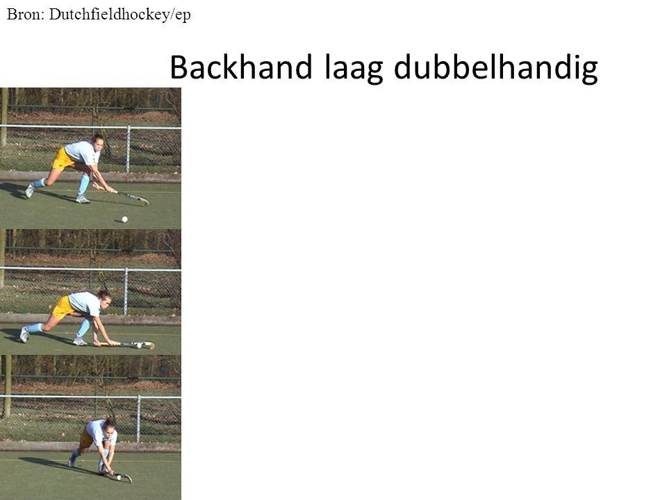 Backhand laag dubbelhandig