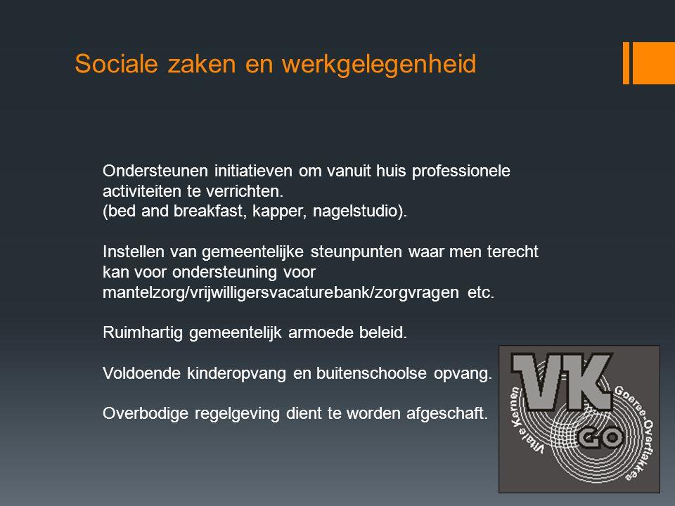 Sociale zaken en werkgelegenheid
