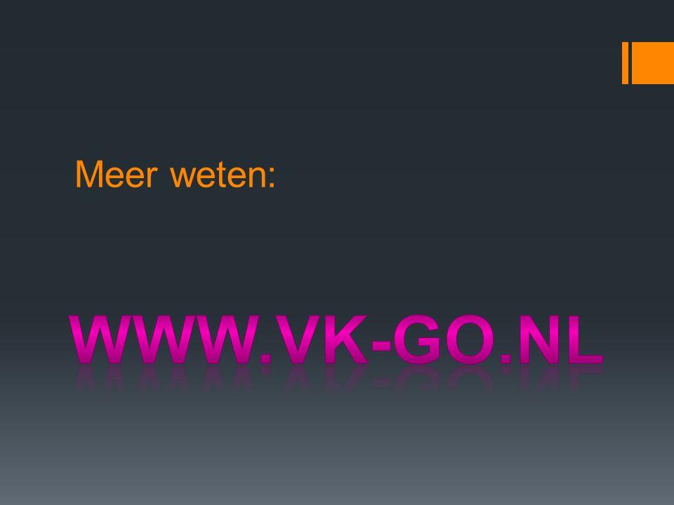 Meer weten: www.vk-go.nl
