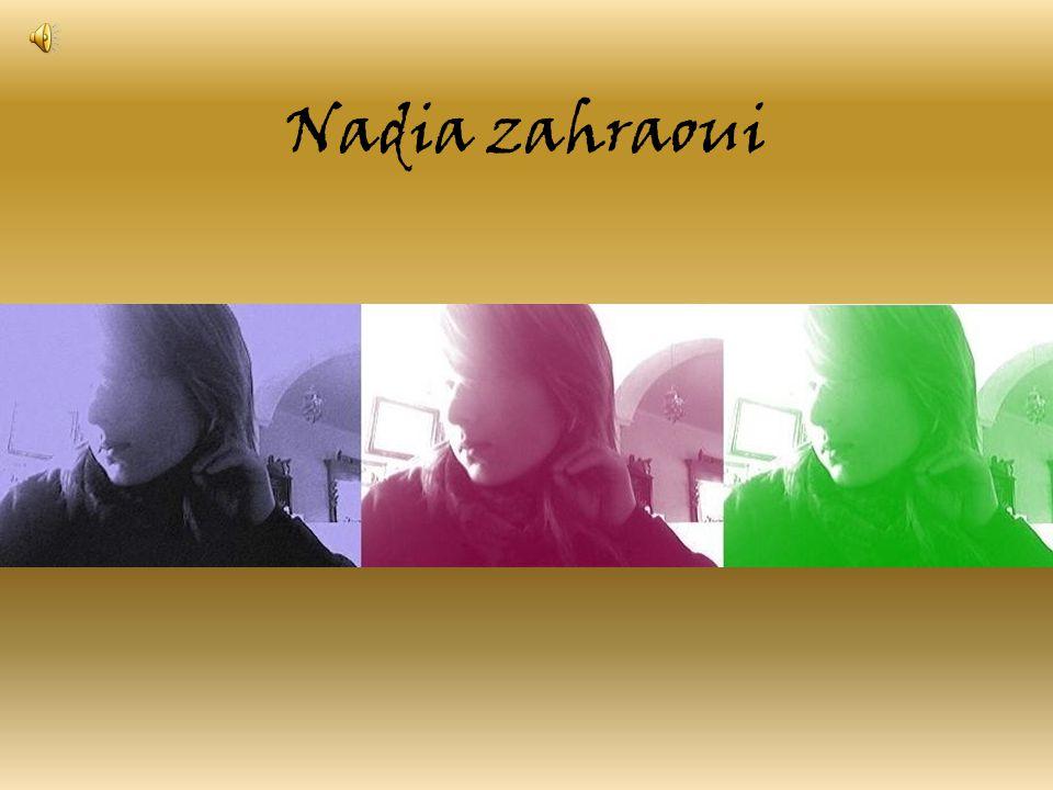Nadia zahraoui