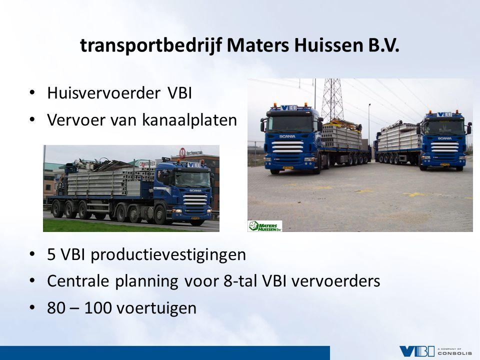 transportbedrijf Maters Huissen B.V.