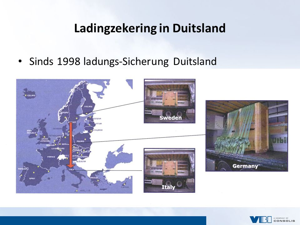 Ladingzekering in Duitsland