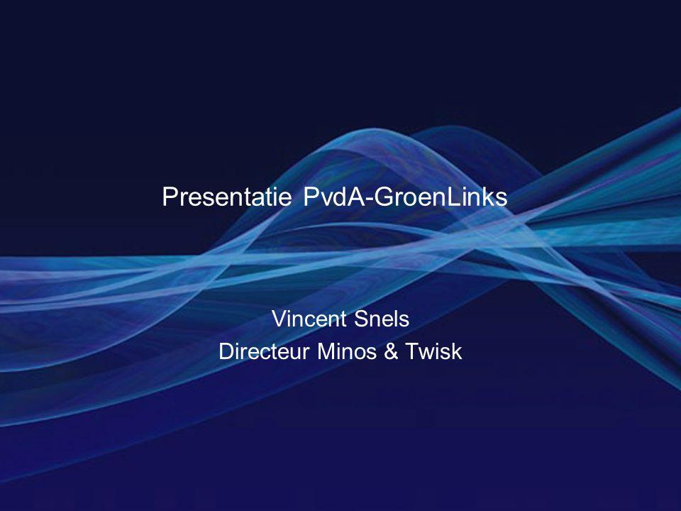 Presentatie PvdA-GroenLinks