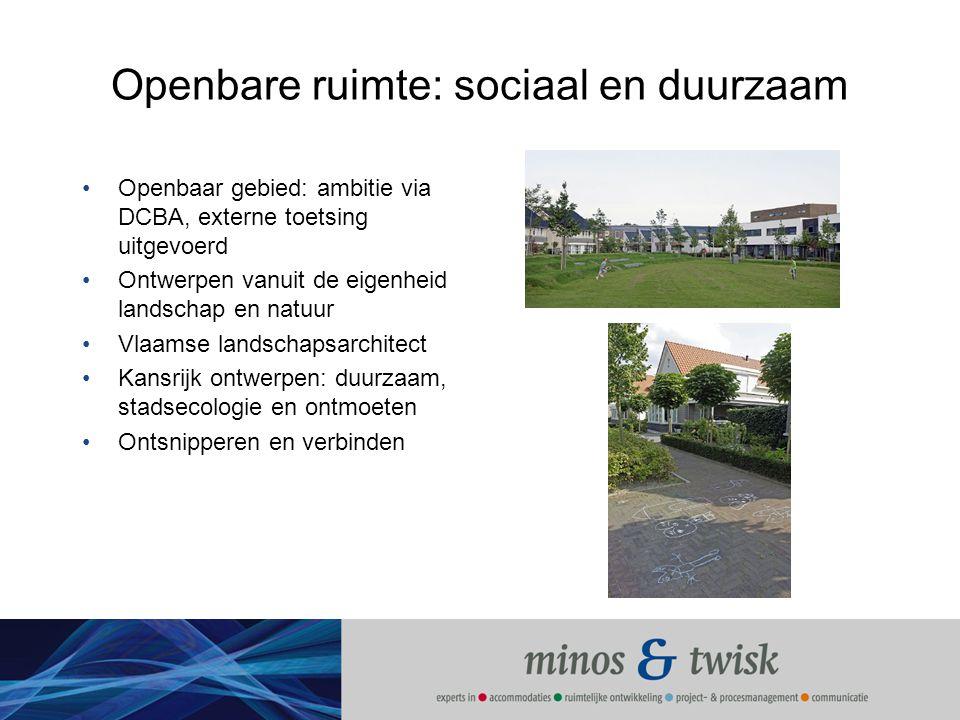 Openbare ruimte: sociaal en duurzaam