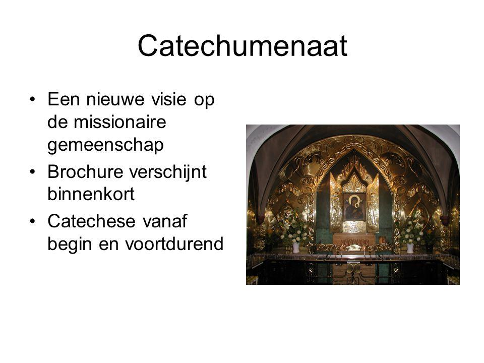 Catechumenaat Een nieuwe visie op de missionaire gemeenschap
