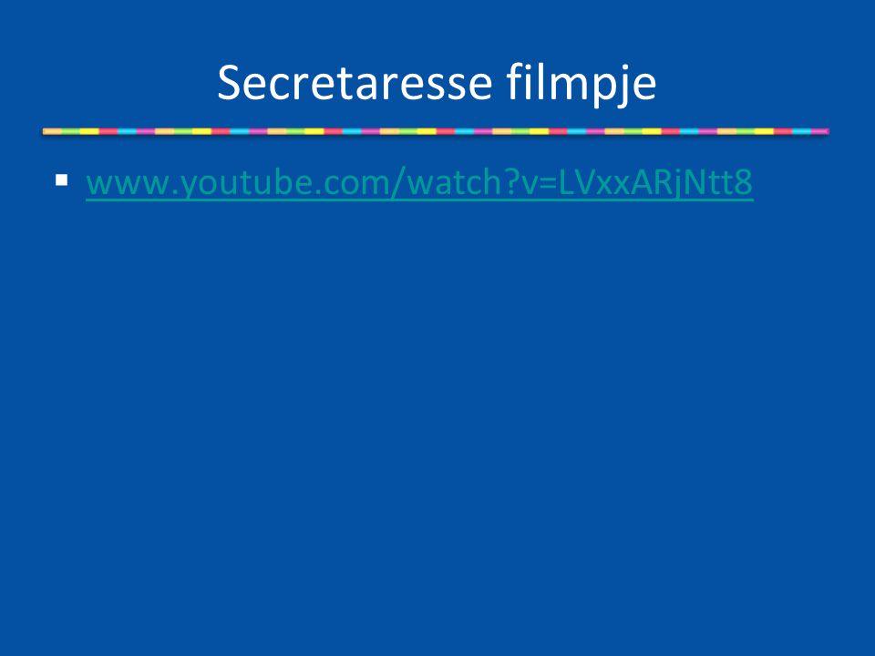 Secretaresse filmpje www.youtube.com/watch v=LVxxARjNtt8