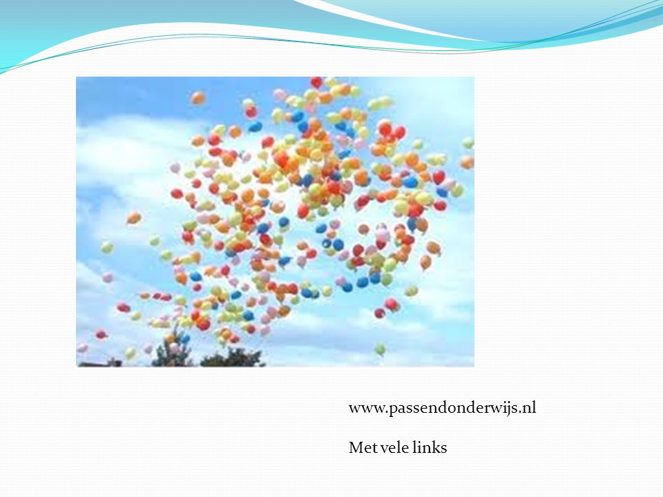www.passendonderwijs.nl Met vele links