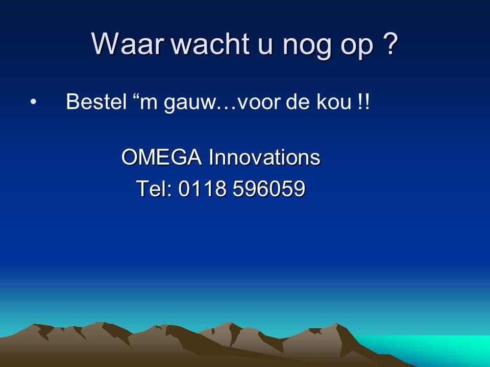 OMEGA Innovations Tel: 0118 596059