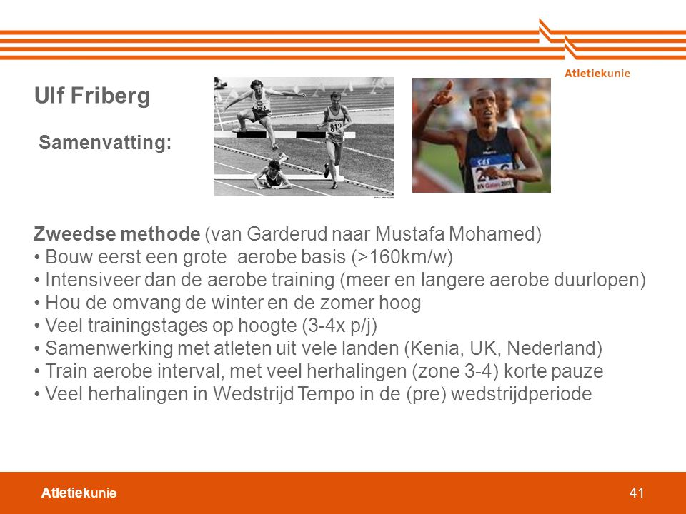 Ulf Friberg Samenvatting: