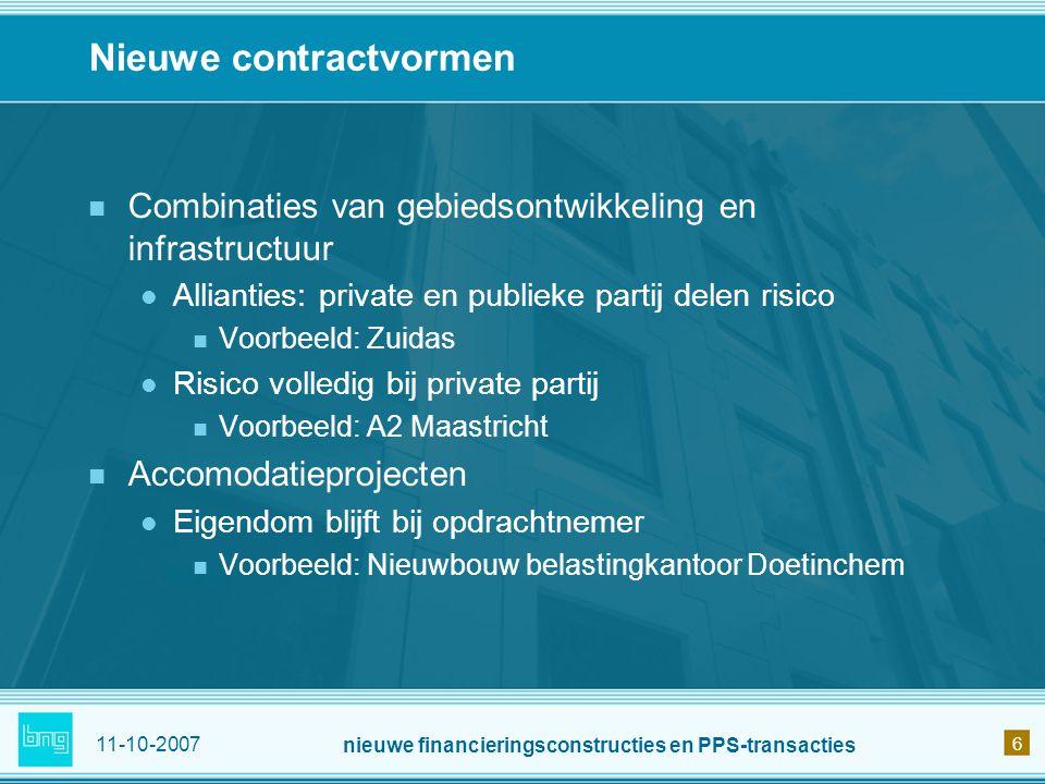 Nieuwe contractvormen