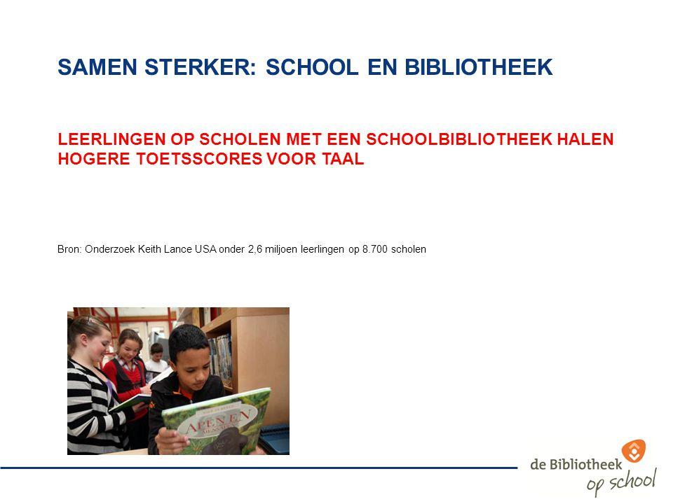samen sterker: school en bibliotheek