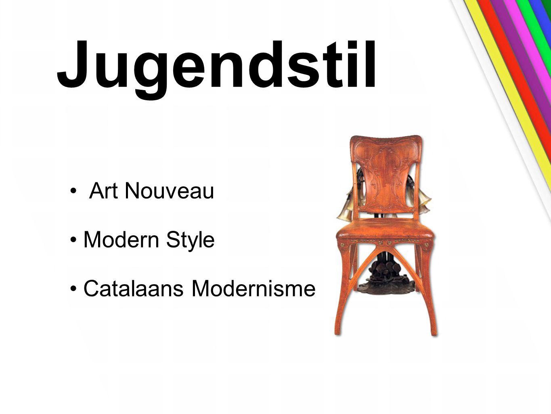 Jugendstil Art Nouveau Modern Style Catalaans Modernisme