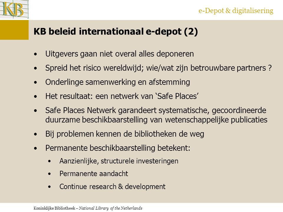KB beleid internationaal e-depot (2)