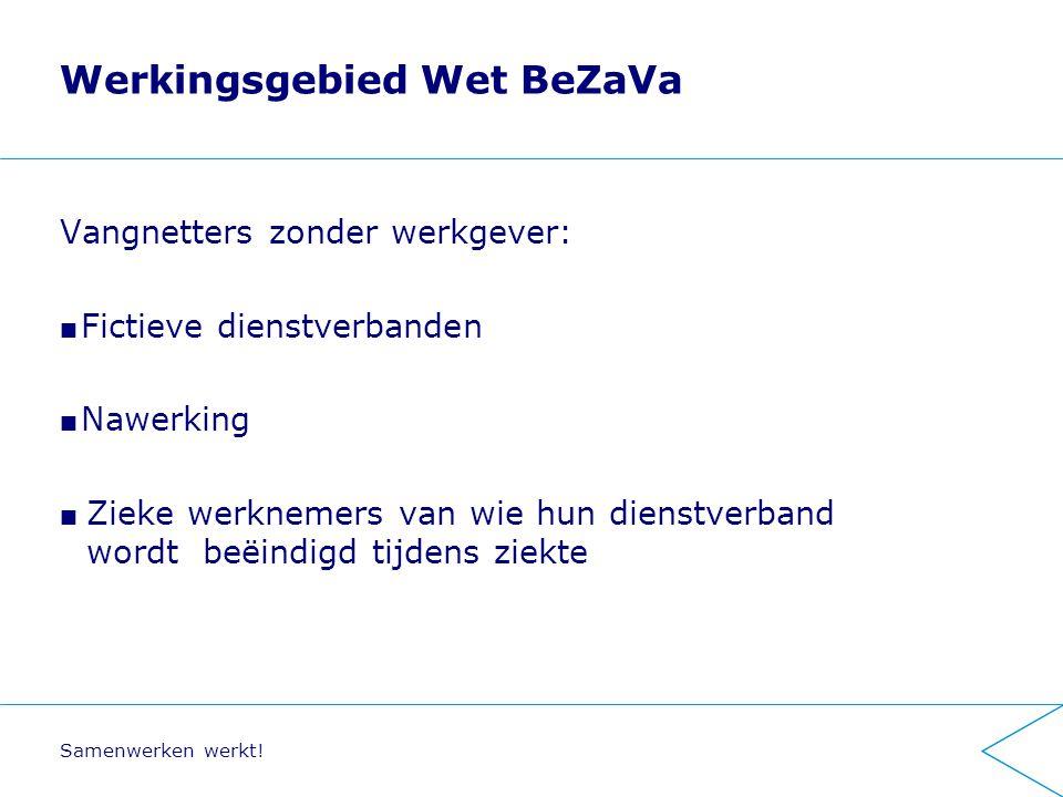 Werkingsgebied Wet BeZaVa